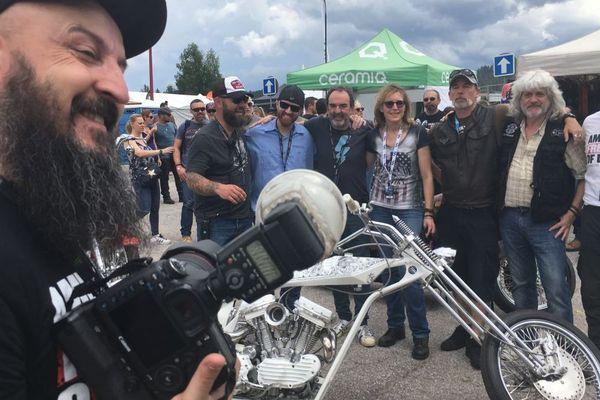 """le jury des """"plus belles motos"""""""