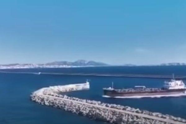 Un navire pétrolier a heurté une digue Nord du Grand Port Maritime de Marseille