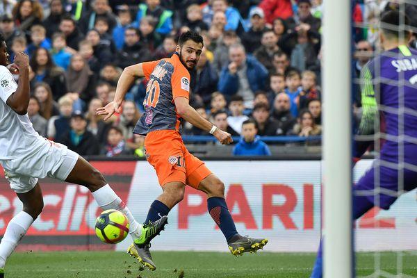 Montpellier a concédé le point du match nul devant Monaco.
