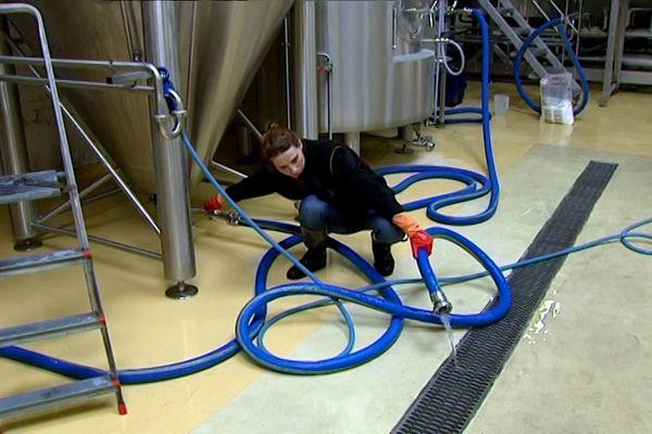 Faire de la bière, c'est un métier physique.
