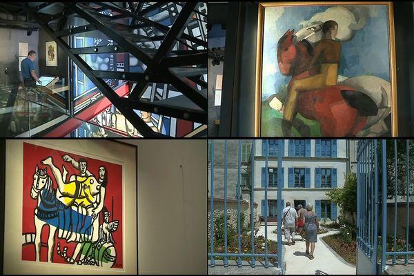 Le musée Fernand Léger - André Mare a été inauguré ce samedi 6 juillet à Argentan