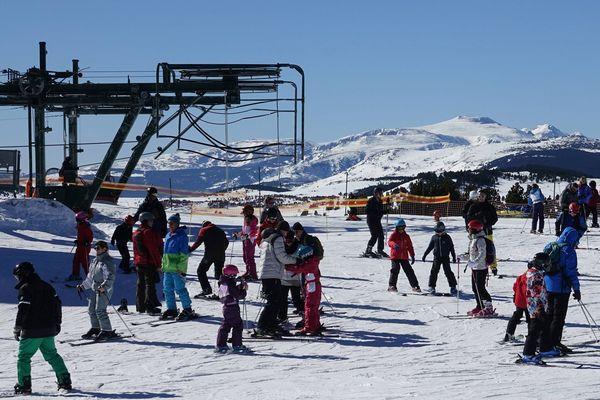La saison de ski bat son plein à Font-Romeu-Pyrénées-2000