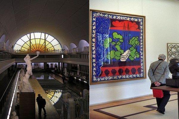 Le musée de La Piscine à Roubaix, premier dans sa catégorie et le musée Matisse du Cateau-Cambrésis, en tête lui aussi de son classement.