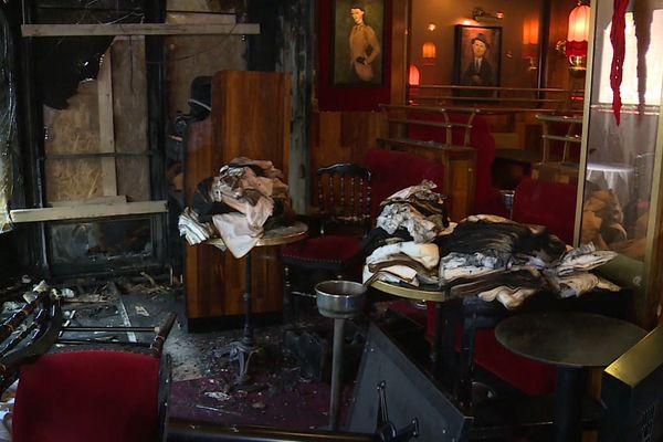 Le personnel de la Rotonde est au chômage après cet incendie.