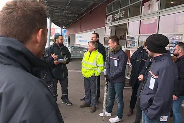 Le mouvement de grève du 1er février 2019 dans l'enseigne de bricolage était national