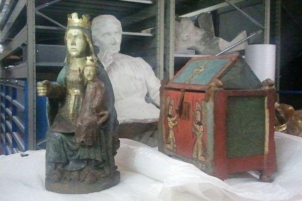 Le trésor de Saint-Béat est à l'abri à Tarbes
