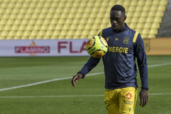 Fin de la saison de ligue 1 pour Jean-Kevin Augustin au FC Nantes