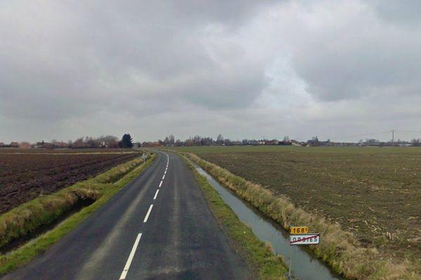 C'est sur une route mal éclairée, entre Lorgies et Neuve-Chapelle, qu'un adolescent de 14ans a été fauché.