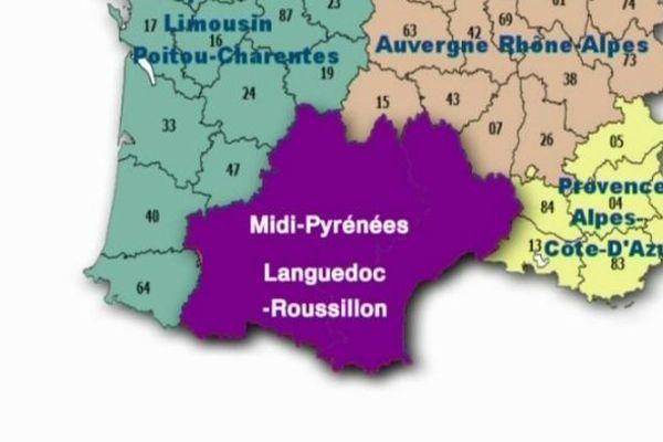 """Comme les douze autres grandes régions, """"Midi-Pyrénées- Languedoc-Roussillon"""" sera dotée de nouveaux pouvoirs."""