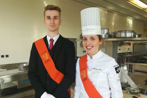 """Nicolas Poizot et Solène Elliot, finalistes du concours international """"jeunes tanlents Escoffier """" n'iront pas à Shanghai"""