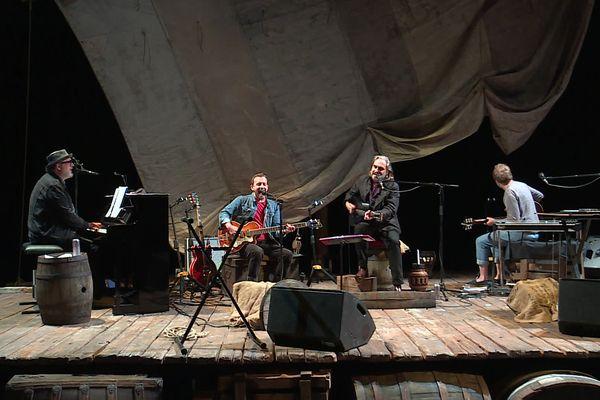 6 juillet 2021 : l'un des cinq concerts de Stephan Eicher au 106 de Rouen