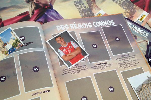 Les vignettes de l'album Panini sur la ville de Reims seront en distribution dans les maisons de quartier et à l'Hôtel de ville