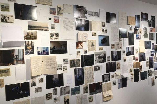 Empreintes, une exposition d'art contemporain au centre culturel Una Volta à Bastia.