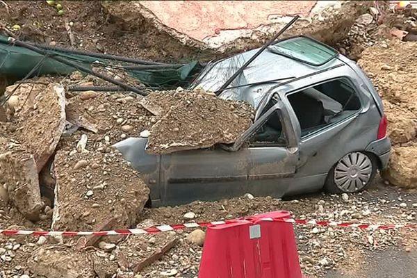 A Nice, il y a eu 80 éboulements, des dégâts qui devraient être remboursés par votre assurance