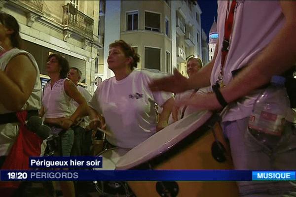 Une chaude ambiance dans les rue de la capitale périgourdine pour la fête de la musique