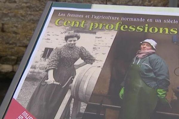"""L'exposition """"Cent professions"""" est à découvrir à la ferme-musée du Cotentin, à Sainte-Mère-Eglise"""