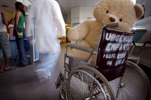Accueil des urgences enfants à la Timone.