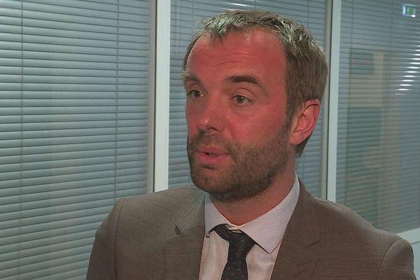 Michaël Delafosse - candidat PS-PCF à Montpellier - 2020.