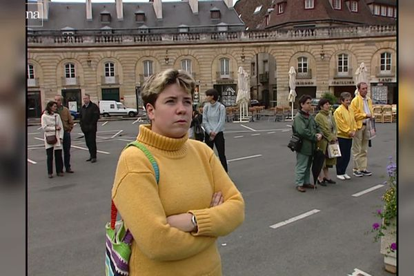 le 14 septembre 2001, une minute de silence était organisée en Bourgogne.