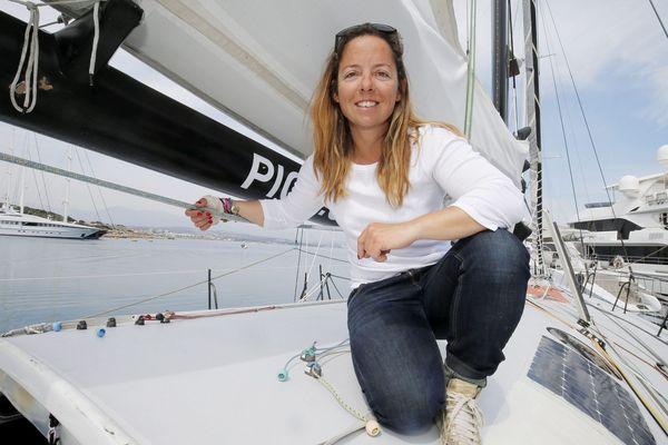 Alexia Barrier, originaire de Biot, prendra le départ de la course à 13h15.