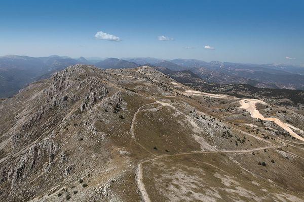 La montagne du Cheiron, dans les Alpes-Maritimes.