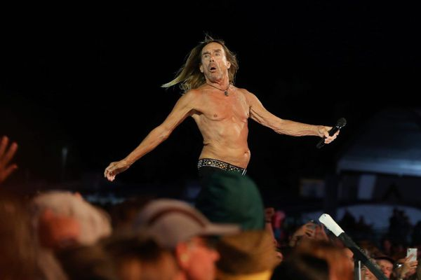 Iggy Pop, une légende vivante du rock
