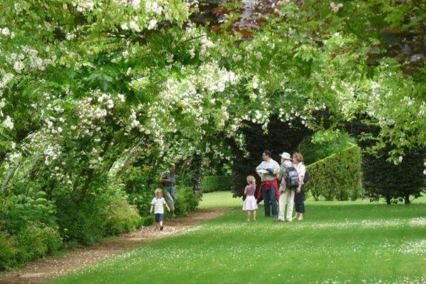 """Le jardin de Séricourt dans le Pas-de-Calais, un des 58 jardins ouverts pour l'opération """"Rendez-vous aux jardins""""."""