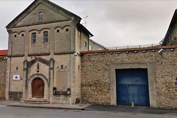 La prison de Châlons-en-Champagne dans la Marne.