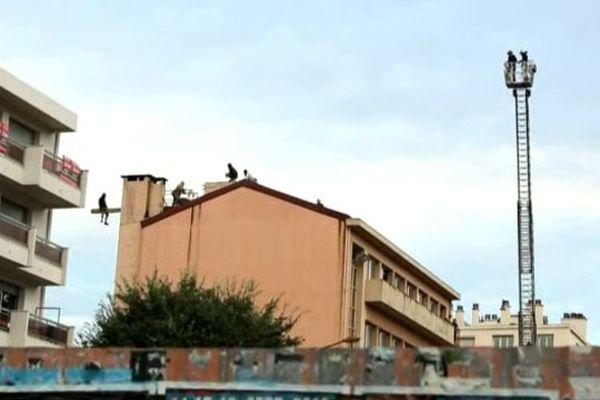 EN août 2012, le CREA avait déjà été expulsé de ce bâtiment