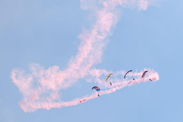 Les parachutistes de la Royal Air Force