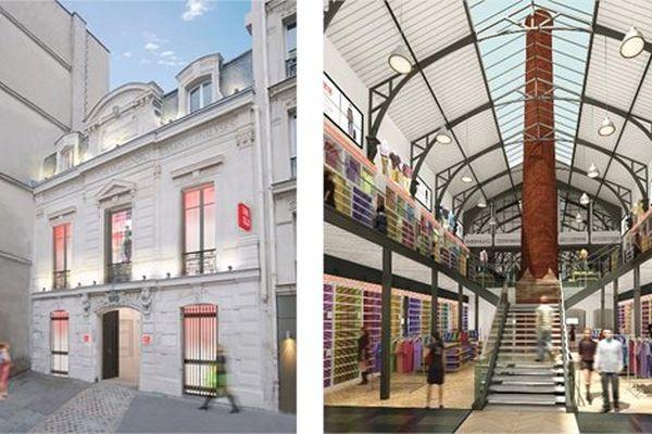 La boutique Uniqlo Le Marais a ouvert ses portes dans le 4e arrondissement de la capitale.