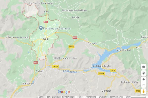 31/07/2020. Une enquête a été ouverte après la pollution de la rivière La Luye, commune de Gap (Hautes-Alpes)