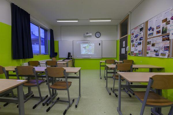 Les classes de l'école Saint-Ouen-des-Alleux resteront vide jusqu'au 14 février.