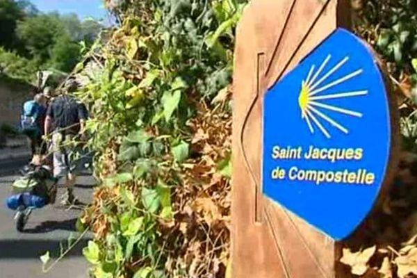 La route de Saint-Jacques-de-Compostelle dans la Vallée du Loir
