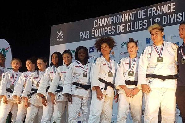 3e des championnats de France de 1ère division, les Orléanaises ont obtenu aussi un billet pour l'Europe