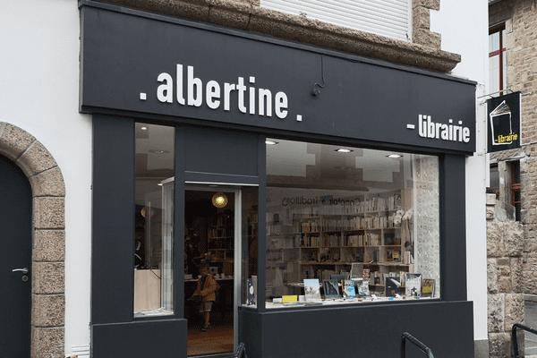 La toute jeune librairie Albertine à Concarneau (29)