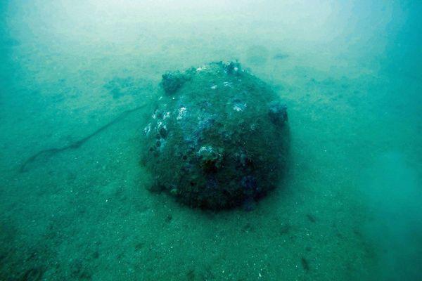 Pyrénées-Orientales : la découverte d'un engin explosif au large de Port-Vendres modifie la pêche et la navigation - septembre 2021.