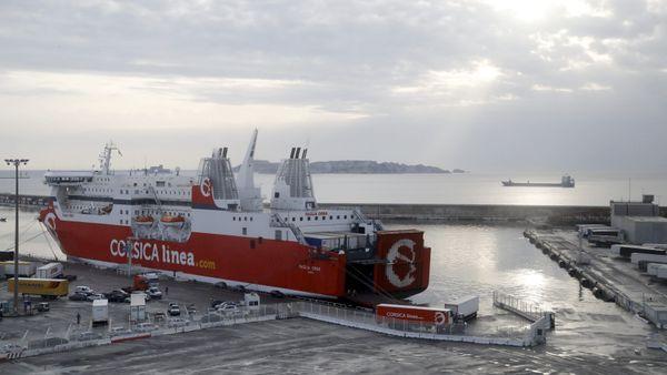 Illustration. Un navire de la Corsica Linea.
