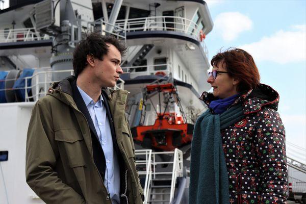 Depuis mars 2020, Alexandre et Myriam, employés à Brittany Ferries, ne sont pas remontés à bord des navires de la compagnie.