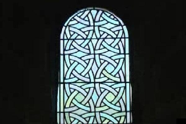 Le vitrail d'Aubazine qui aurait inspiré Coco Chanel pour son logo
