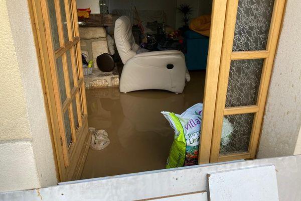 A Chambly, plusieurs habitations ont été inondées.