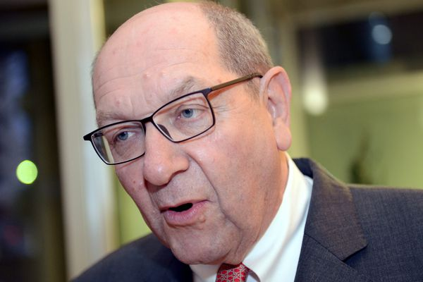 Le président de la commission Mobilité 21, le député maire de Caen Philippe Duron
