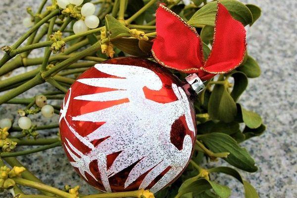 Une boule de gui pour le 31 décembre