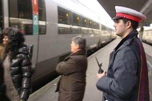 Gare SNCF d'Orléans - 2 janv 2012