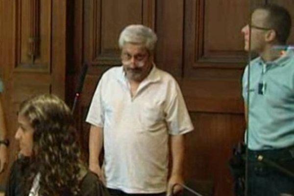 Montpellier - Amédée Amador, condamné à 16 ans de réclusion criminelle pour un double assassinat à Montpellier en 1985 - juillet 2013.