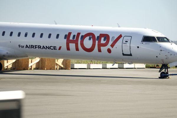 Hop ! (ex-Brit Air) fait partie du paysage économique de Morlaix depuis de nombreuses années.
