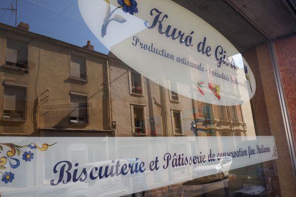 """Le nom de la boutique signifie """"le coeur de Gisa"""" en italien, en hommage au père de la pâtissière."""