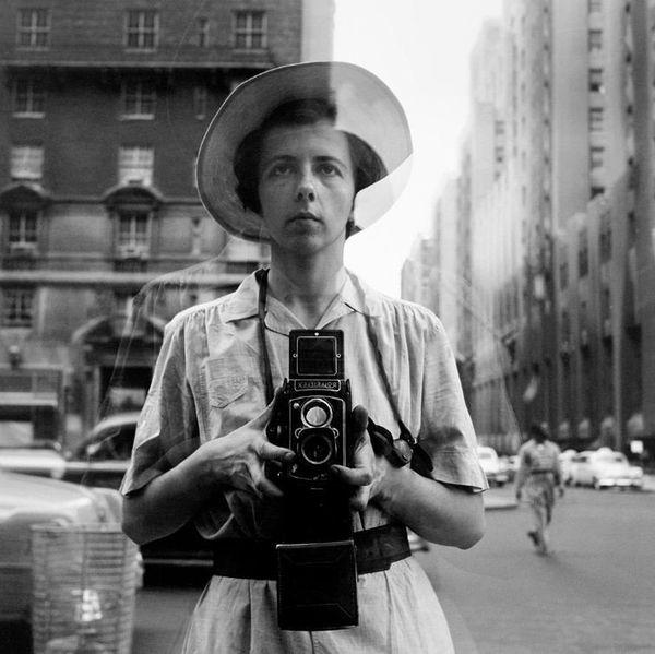 Autoportrait 18 octobre 1953 à NY..