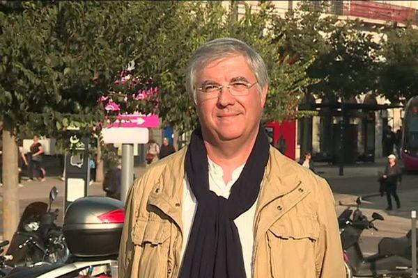 Le linguiste Philippe Blanchet, le 19 octobre 2018 à Dijon.