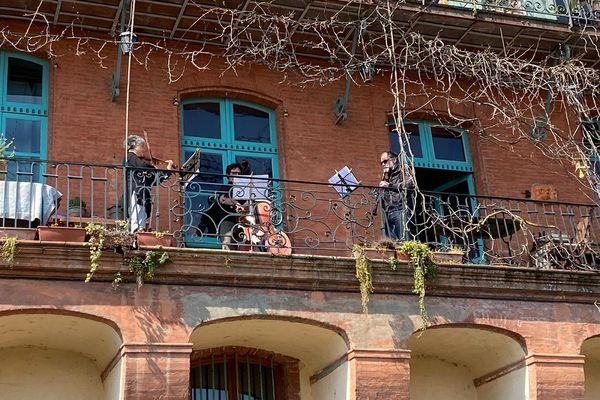 Des fenêtres musicales pour fêter l'arrivée du printemps...